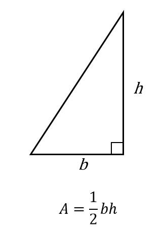 Area Of Right Triangle